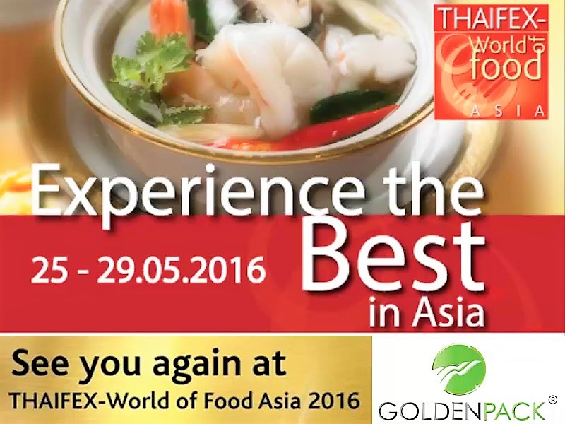 ภาพบรรยากาศ THAIFEX-World of Food Asia 2016