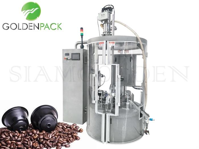 เครื่องซีลถ้วยกาแฟแคปซูลอัตโนมัติ SKP-1N