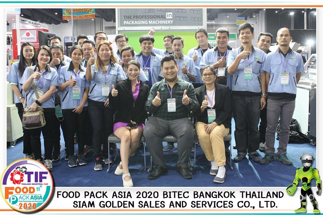 ภาพบรรยากาศ FOOD PACK ASIA 2020 THAILAND